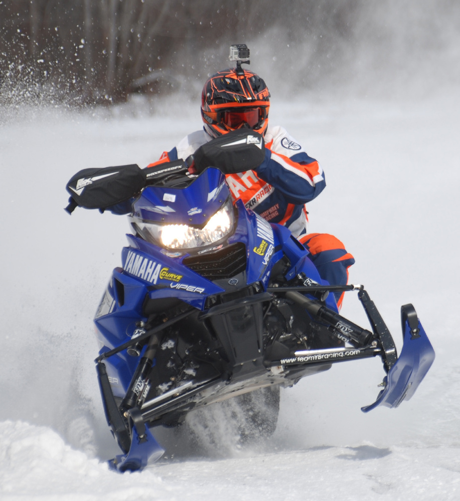 Ben Humphrey, 18, fuels his own competitive spirit on a snowmobile, and the 2016 Freeport High graduate loves it.