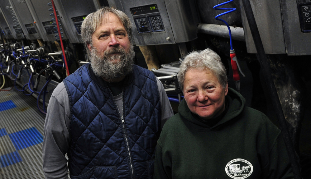 Above: South Mountain Creamery in Frederick, Md., is a tourist destination as well as a working dairy farm. At left: Randy Sowers, shown with Karen Sowers, right, had been accused of structuring bank deposits to avoid having the bank make reports to the IRS.