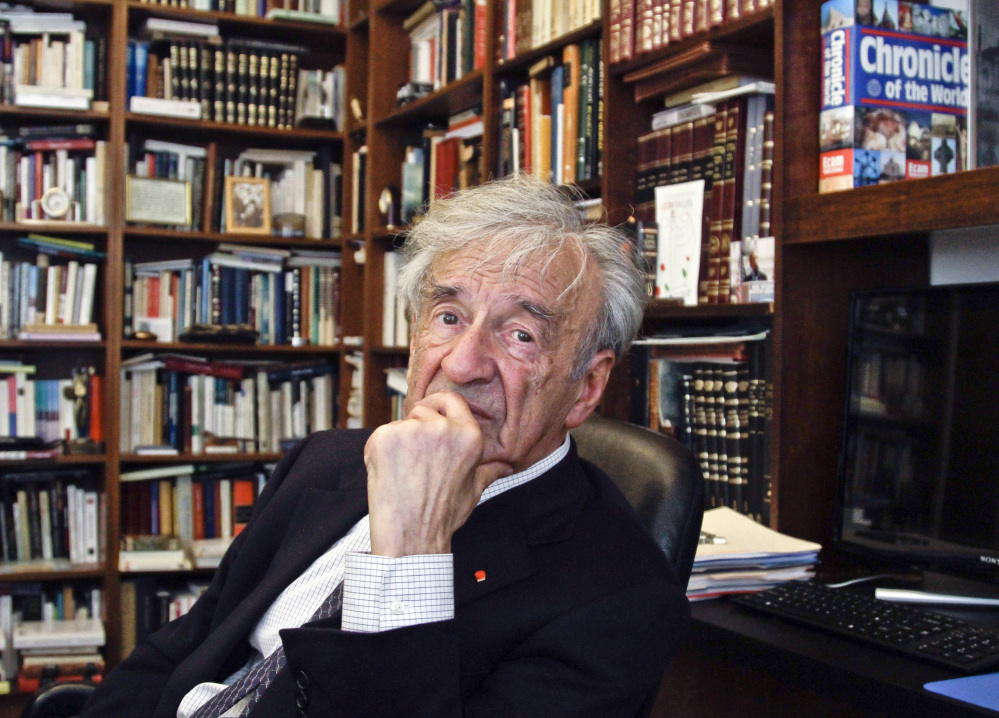 Elie Wiesel, Romanian-born writer and political activist died on July 2. He was 87. Called a