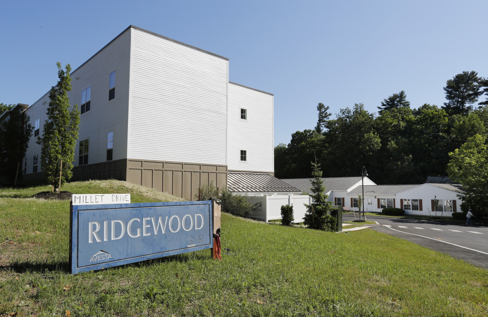 Avesta Housing will soon welcome tenants to a 24-unit expansion of the Ridgewood subsidized senior apartment complex off School Street in Gorham, but affordable housing advocates say it will hardly dent a growing need among older Mainers. Joel Page/Staff Photographer