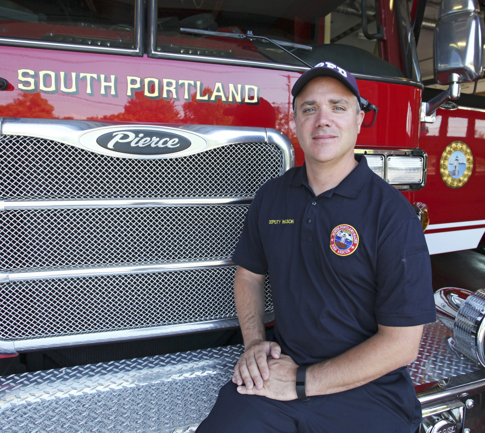 Deputy Fire Chief Jim Wilson, a third-generation firefighter, will be sworn in as South Portland's chief early next week. He has been with the department for 20 years.