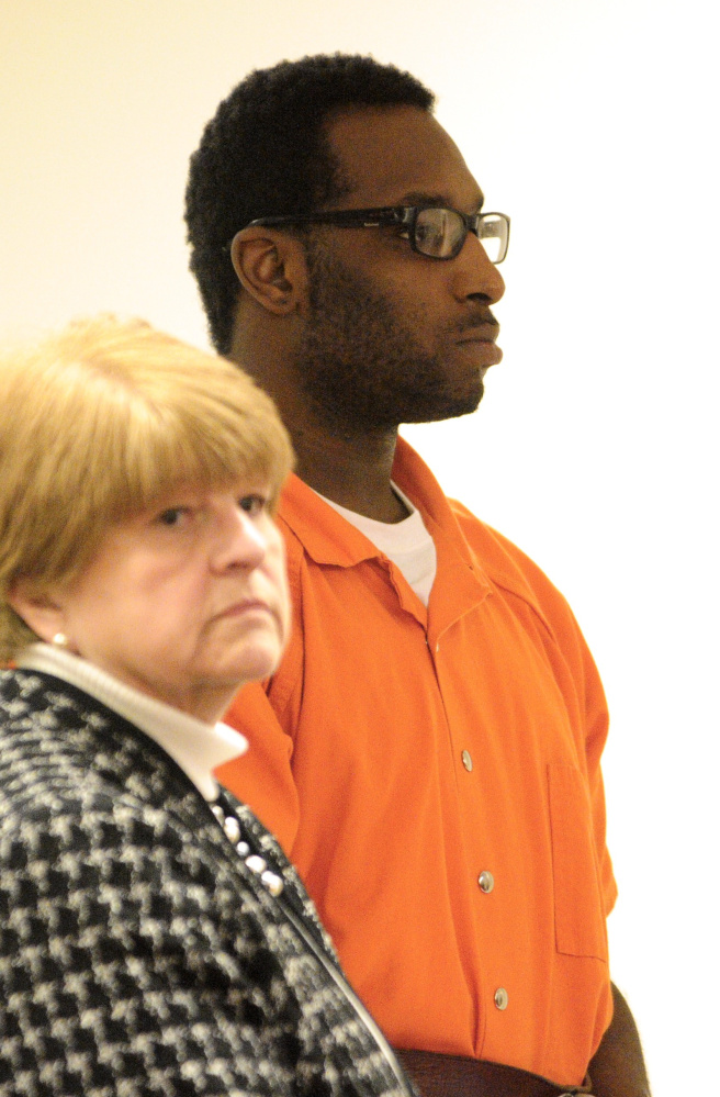 Defense attorney Pamela Ames, shown in a court hearing last year with David W. Marble Jr., 30, of Rochester, New York, is asking for a hearing to find out what the state has promised another man for cooperating in an investigation that alleges Marble killed two people on Dec. 25.