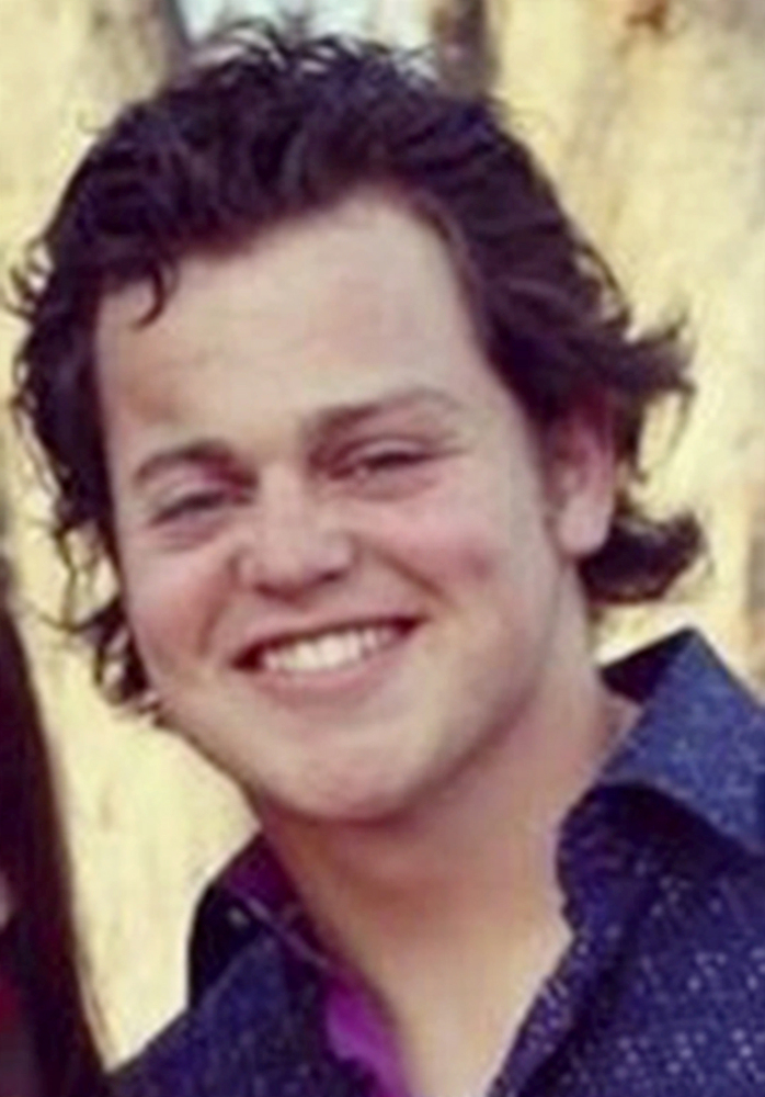 This undated photo provided by the Solomon family shows Beau Solomon of Spring Green, Wis. Italian police detained a homeless man in the death of Solomon, whose body was found Monday, July 4, 2016, in the Tiber River in Rome. Solomon was last seen early Friday at a pub popular with U.S. students in Trastevere, just hours after arriving in Rome for an exchange program at John Cabot University. (Courtesy of the Solomon family via AP)