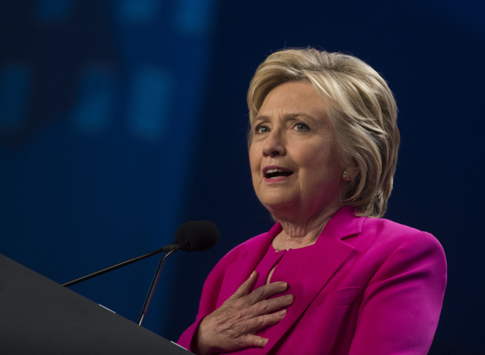 Presumptive Democratic presidential nominee Hillary Clinton should explain more about the reasoning behind using a private email server when she was secretary of state, and say what she learned from the criticism she has received over it.