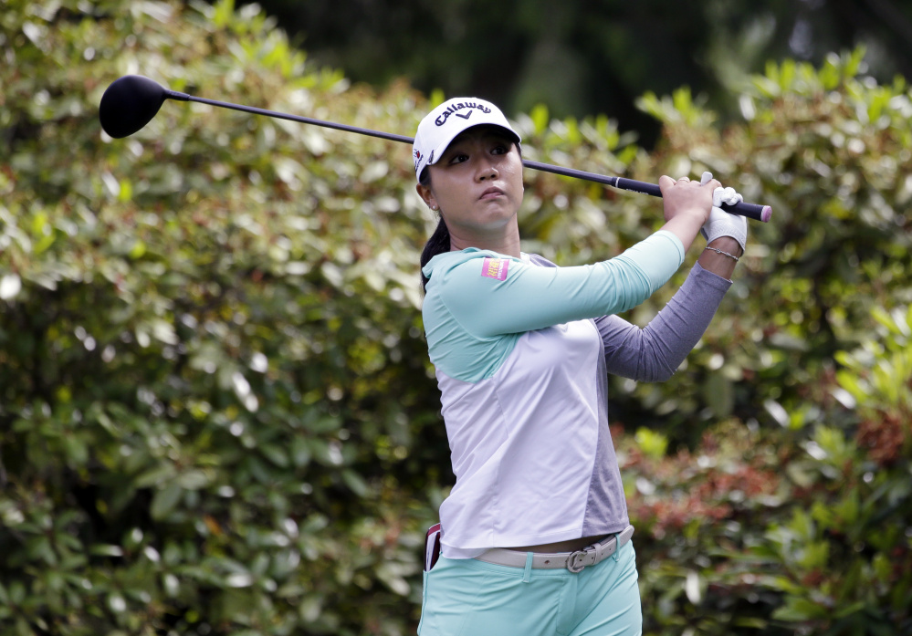 Lydia Ko in action in the final round at the Women's PGA Championship golf tournament at Sahalee Country Club Sunday, June 12, 2016, in Sammamish, Wash. ()