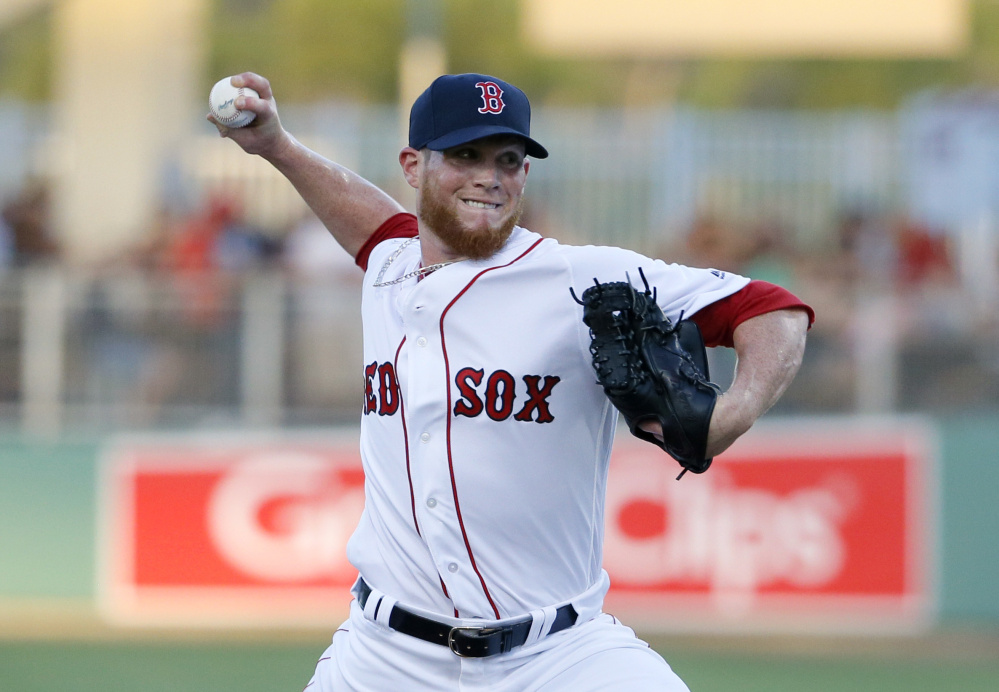 Boston Red Sox relief pitcher Craig Kimbrel