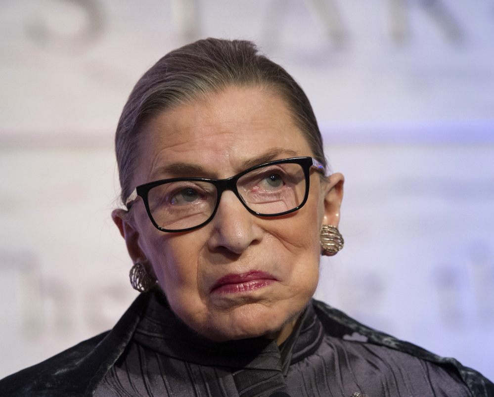 Supreme Court Justice Ruth Bader Ginsburg made her feeling about Donald Trump as president known in a recent New York Times interview.
