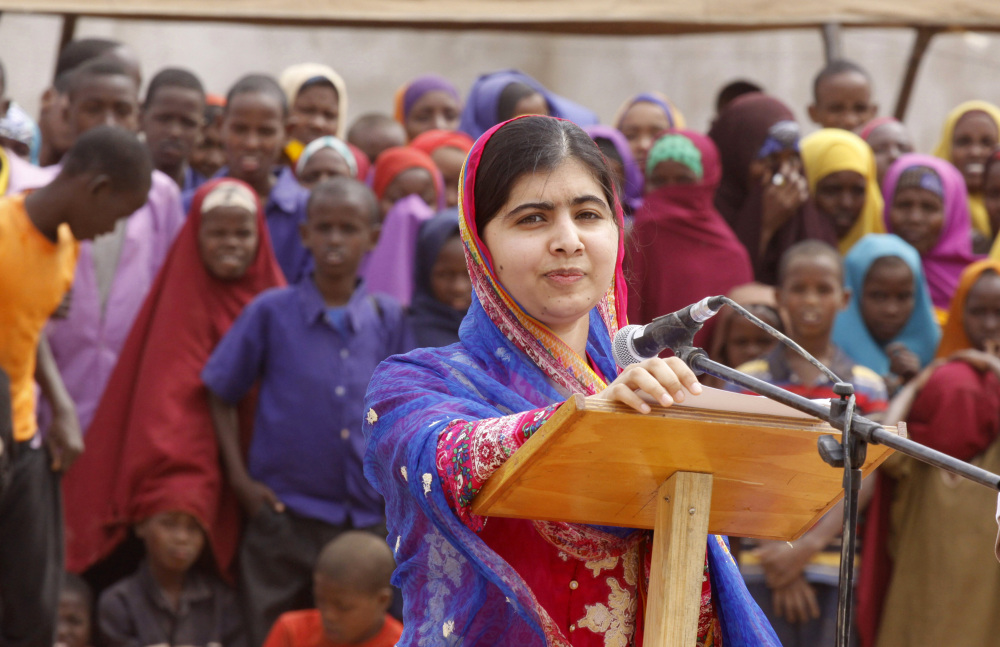 Malala Yousafzai is spending her 19th birthday in Kenya drawing attention to the global refugee crisis,.