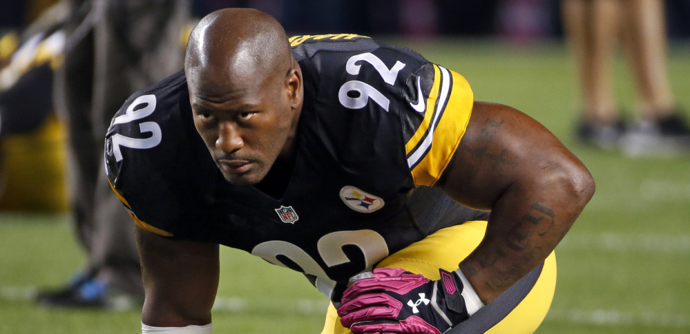 Pittsburgh Steelers linebacker James Harrison, who briefly mulled retirement this offseason, was named in an Al-Jazeera report on performance-enhancing drugs in December, but has filed an affidavit denying he used them.