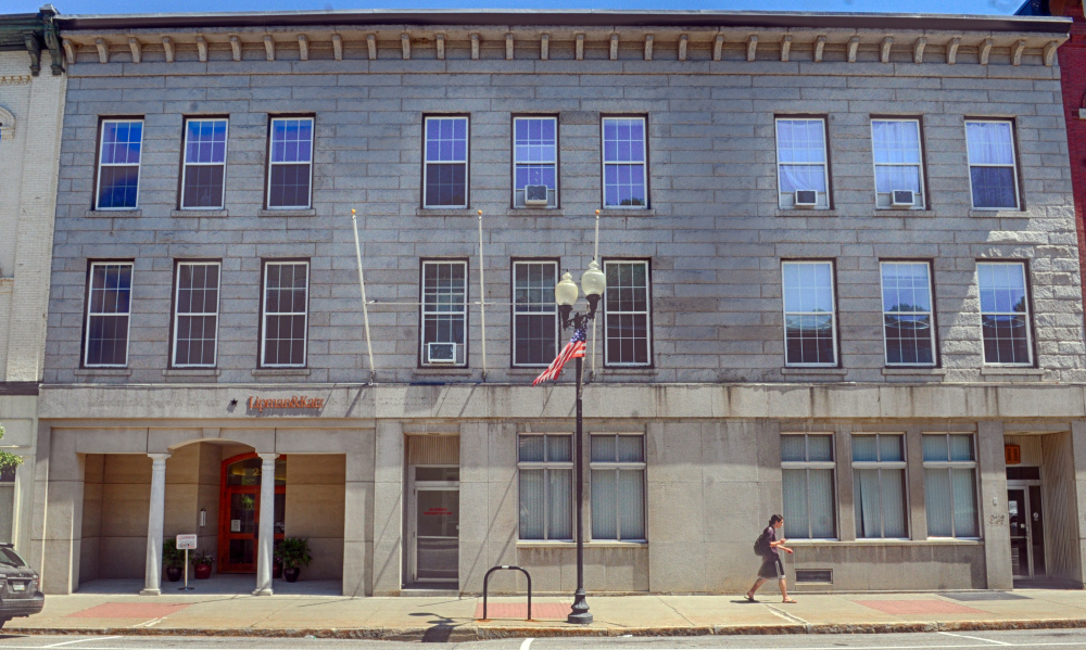 The second floor of Riverview Terrace at 227 Water St. in Augusta is being renovated for use as co-working space for startups, small businesses and anyone else who needs space but doesn't want to pay to set up an entire office.