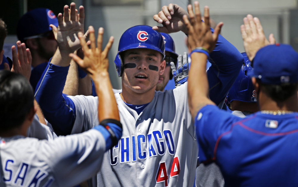 Anthony Rizzo is a key part of the Chicago Cubs' hopes to win their first World Series since 1908. As the second half of the season beckons, the Cubs are in solid command of the NL Central with a seven-game lead over the St. Louis Cardinals.