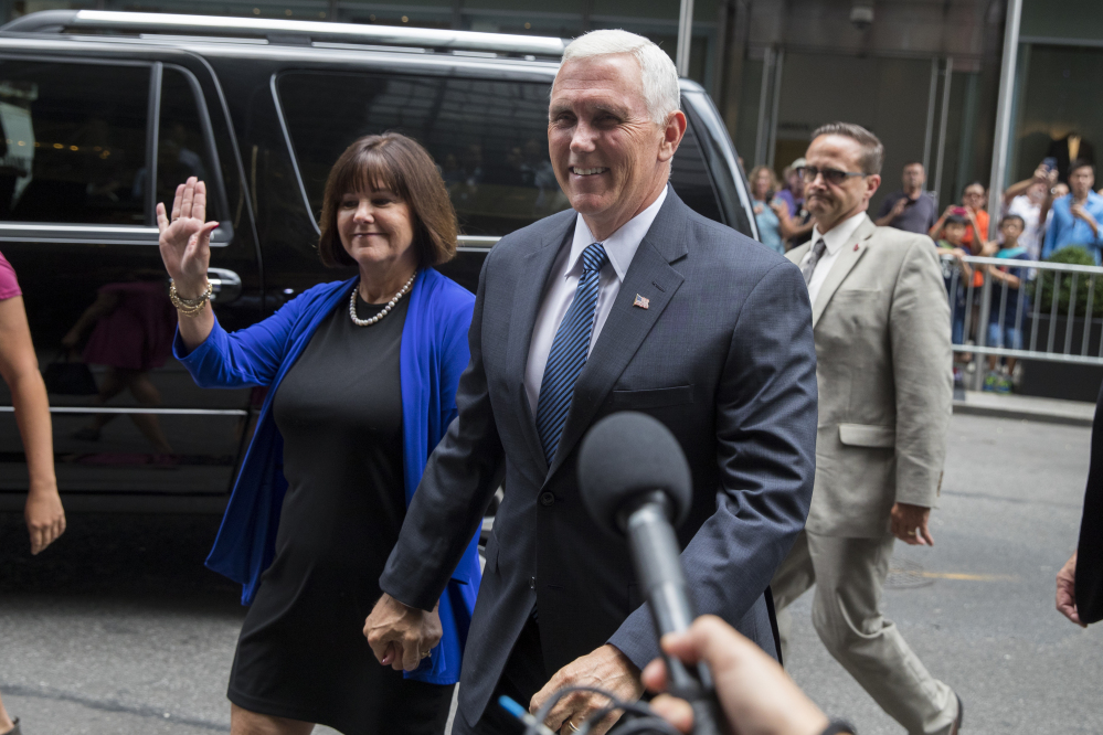 Image result for trump pence wife