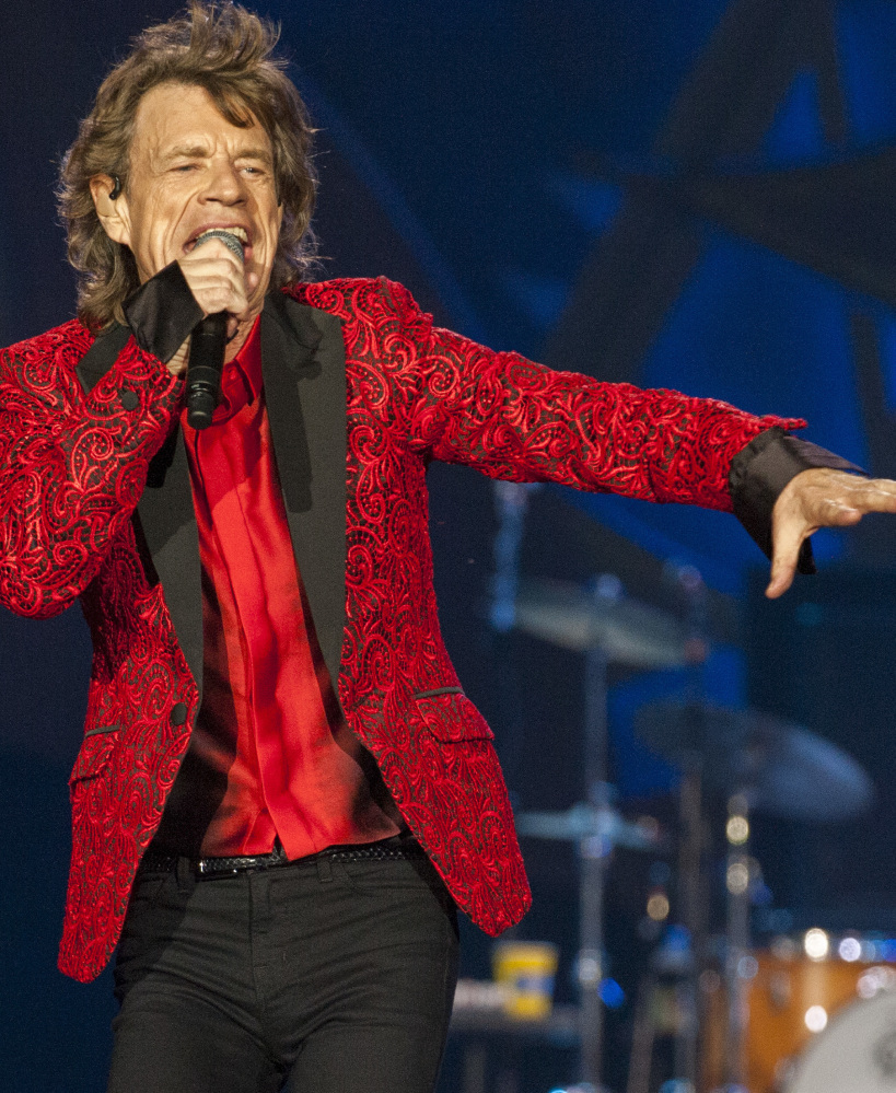 Mick Jagger of the Rolling Stones performs in 2015.