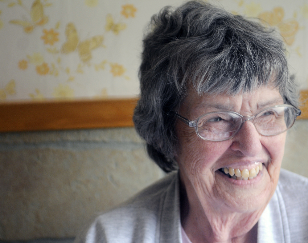Arden Clement, 86, was 18 years old when her father died in World War II.