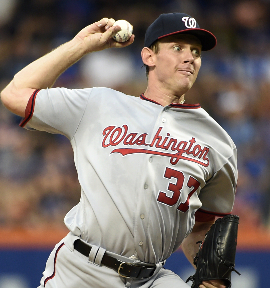 Washington Nationals ace Stephen Strasburg is the first National League starting pitcher to open a season 13-0 in more than 100 years. Strasburg signed a $175 million, seven-year contract extension in May.