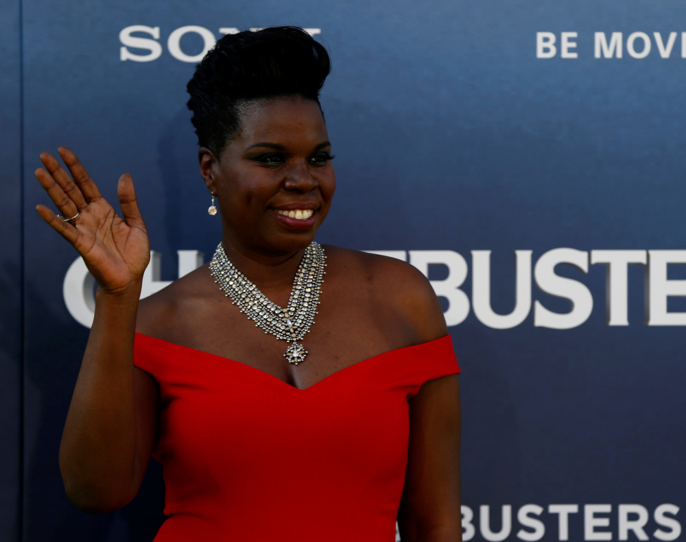 Leslie Jones poses at the