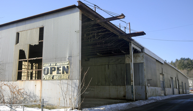 Developers plan to revitalize the former T.W. Dick fabrication properties into a medical center and housing for senior citizens and local workers. Andy Molloy/Kennebec Journal