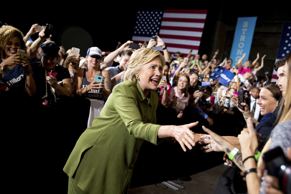 This election will be won by the most motivated party, and Democratic presidential candidate Hillary Clinton will have to abandon some of her caution and embrace the enthusiasm that propelled the Bernie Sanders campaign.