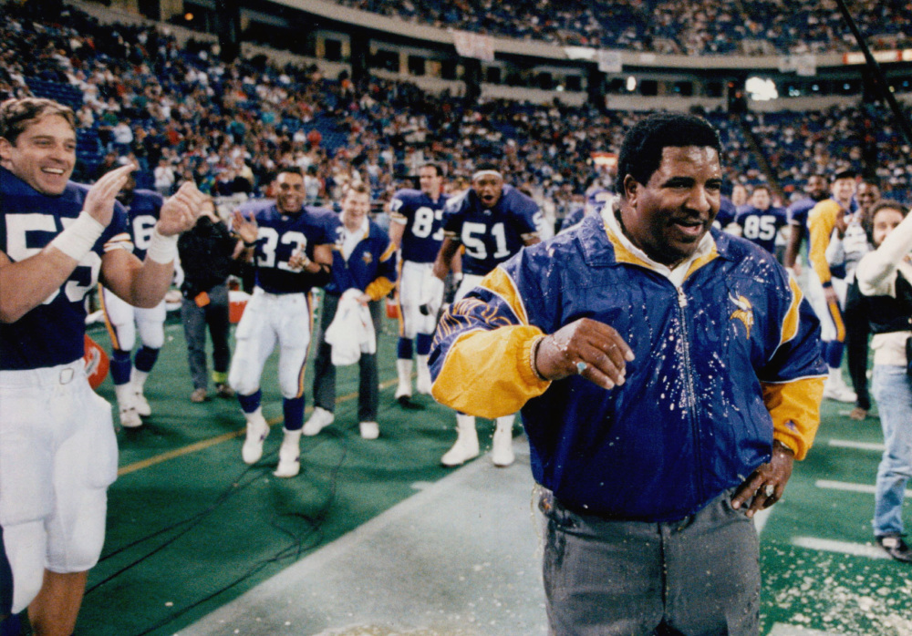 Dennis Green, who lead the Minnesota Vikings to the playoffs eight times in 10 seasons, including two trips to the NFC championship game, died Friday. He also coached the Arizona Cardinals.