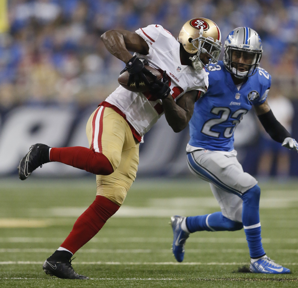 Anquan Boldin showed last season he has plenty left after in the tank, catching 69 passes for 798 yards. Still, the 35-year-old wide receiver is without a job.