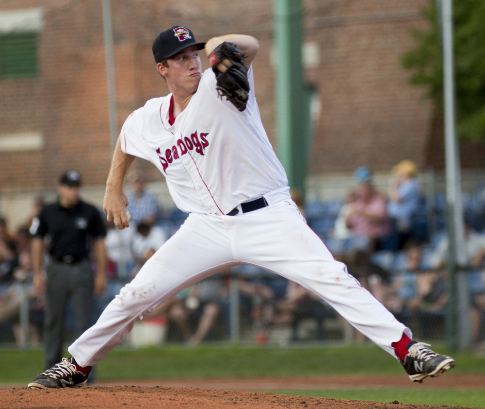 Sea Dogs pitcher Teddy Stankiewicz allowed five hits and three runs in six innings Friday night on the way to a 9-3 win over the Binghamton Mets at Hadlock Field.