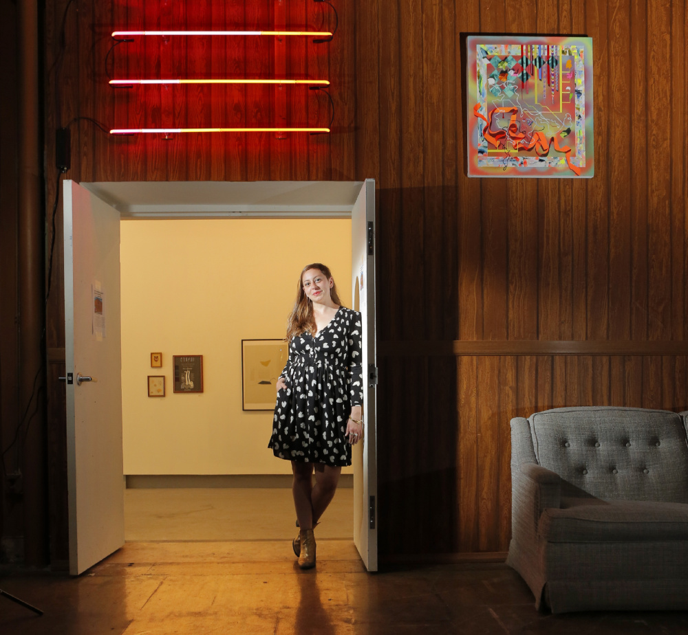 Elizabeth Spavento, the new visual arts coordinator at SPACE Gallery in Portland, will be involved in arts projects that engage the public.