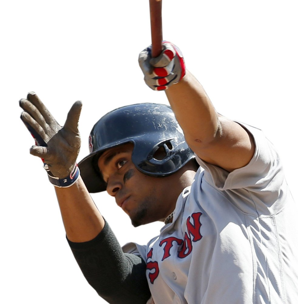 Xander Bogaerts has shown steady improvement since becoming a regular in the Red Sox lineup in 2014. This season, he made his first All-Star team and is third in the majors in hits.
