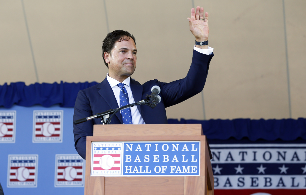 Mike Piazza played for five teams during his 16-year major league career but is most remembered for his days with the Los Angeles Dodgers and New York Mets.