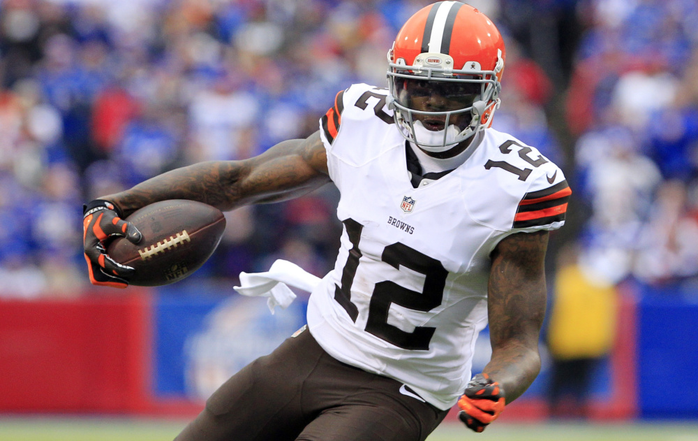 Browns receiver Josh Gordon was conditionally reinstated by the NFL on Monday. Gordon has been banned since February 2015 for multiple violations of the league's drug policies.