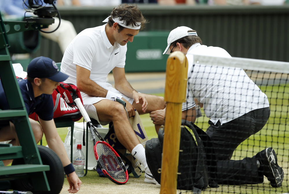 Roger Federer will miss the Olympics in Rio de Janeiro and U.S. Open, among other tournaments, in order to rest his left knee. Federer, who lost in the Wimbledon semifinals, had surgery on the knee earlier this year.