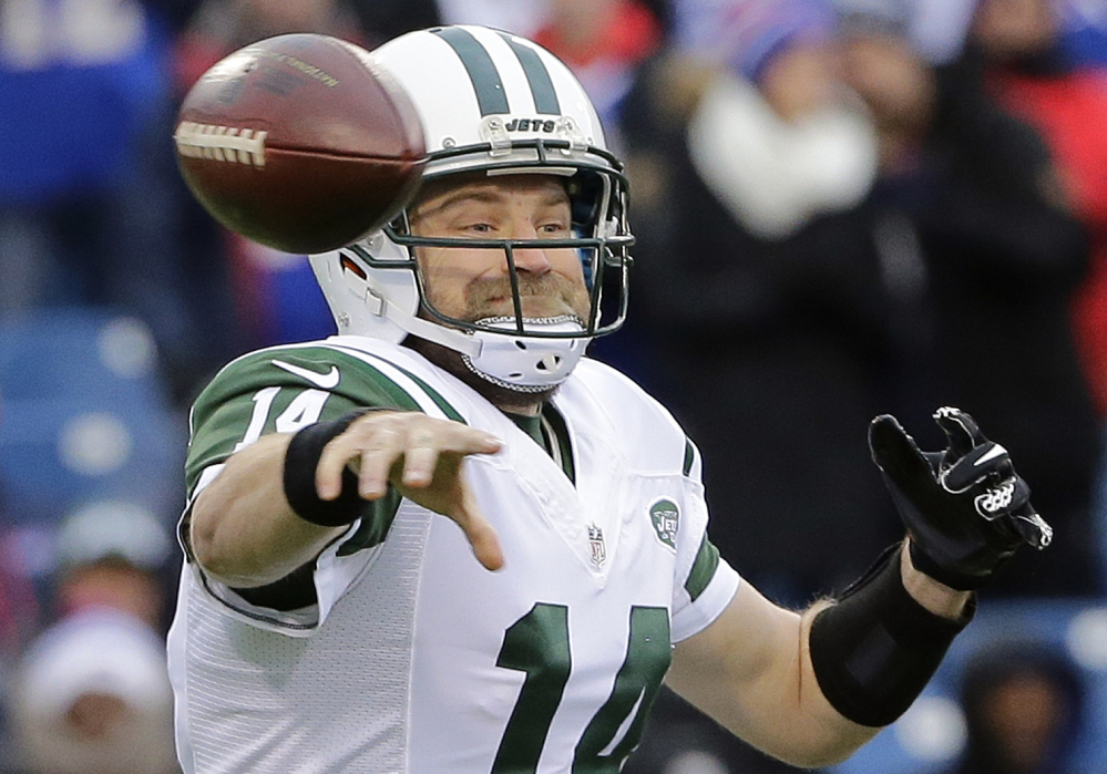 Ryan Fitzpatrick had a breakout season with the Jets last year, turning around a 4-12 team from the year before and nearly earning an AFC wild-card berth with a 10-6 record.