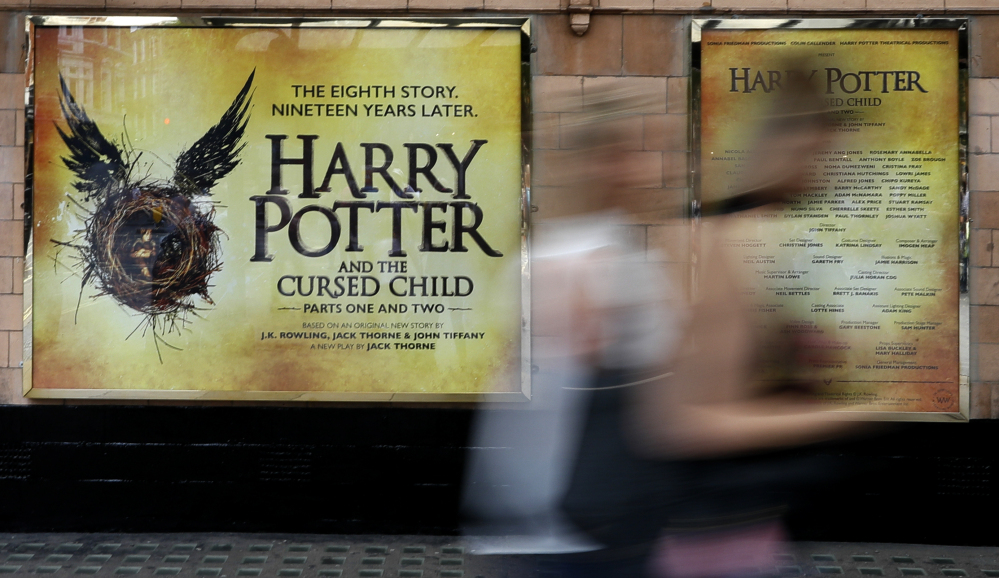 The new Harry Potter play at the Palace Theatre in London is has created