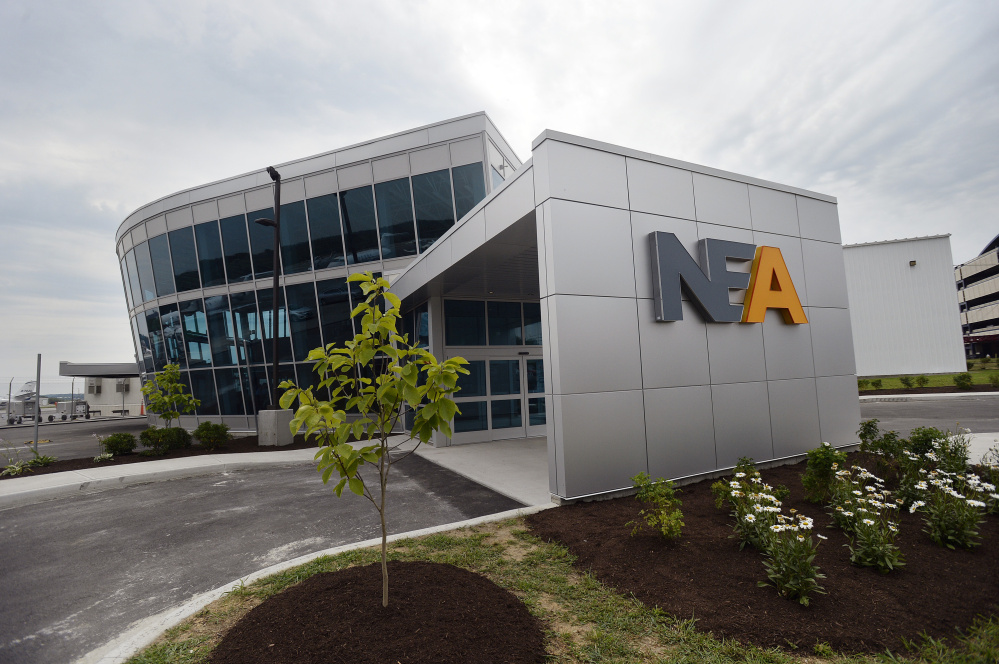 Portland-based Northeast Air's new facility, photographed on Friday.