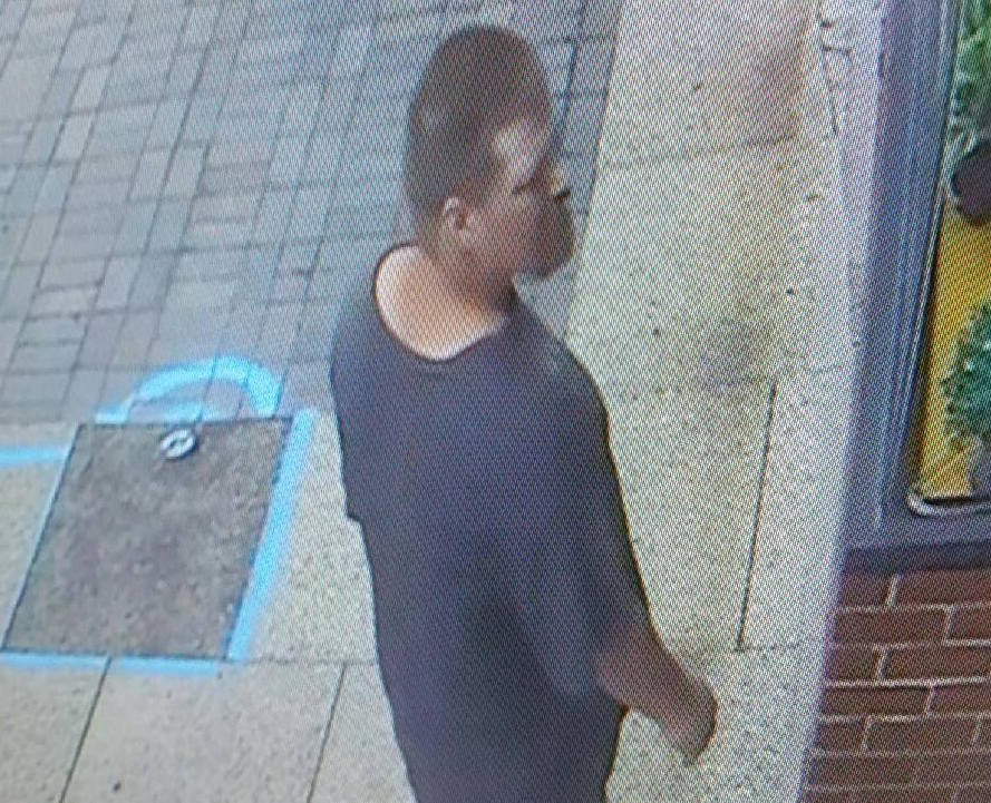Lewiston police are seeking the public's help identifying this man in connection with the assault of a clerk at a wine store on Saturday.