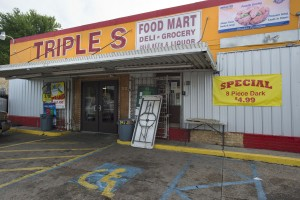 The Triple S Food Store in Baton Rouge, La., where 37-year-old Alton Sterling was fatally shot by police. Travis Spradling/The Advocate via AP