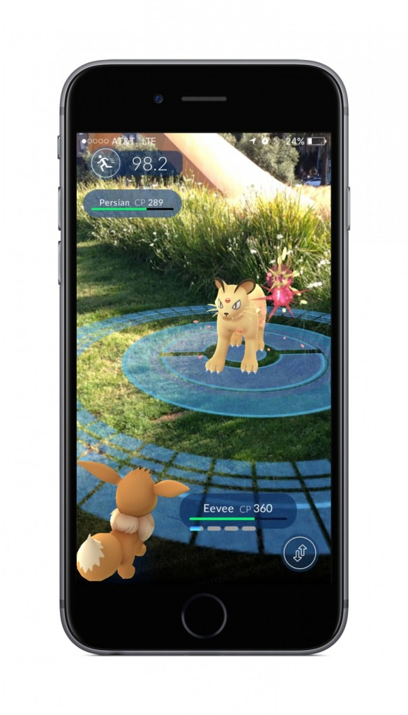 Pokemon Go is a new smartphone app that brings users into the real world to search for the virtual creatures.