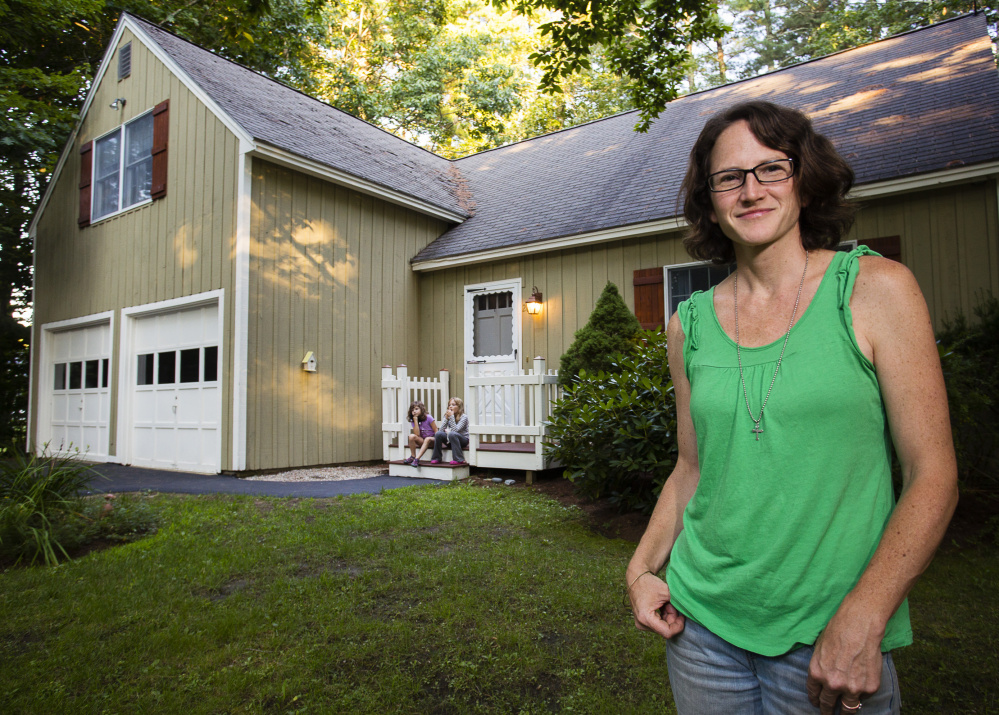 Linda Jarochym, who rents out her Ogunquit home in the summer, doesn't think she's hurting local hotel and inn businesses.