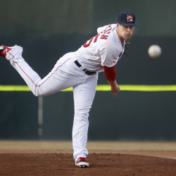 Keith Couch has been one of the most consistent pitchers in the Boston minor league system for the past seven years, but the Red Sox seem content to let go him at the end of this season. Derek Davis/Staff Photographer