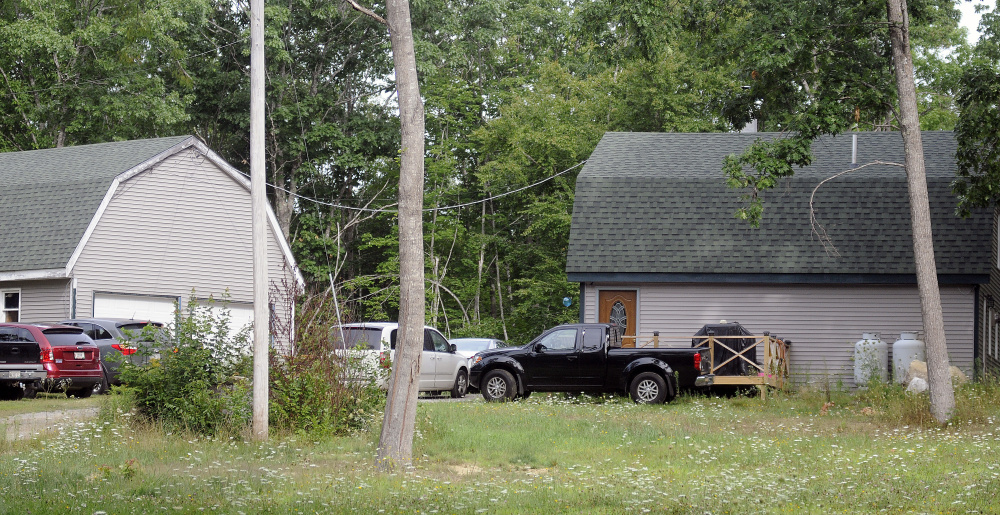 Shane Prior shot and wounded his former girlfriend Melissa Creamer Tuesday at this home on Somerville Road in Jefferson.