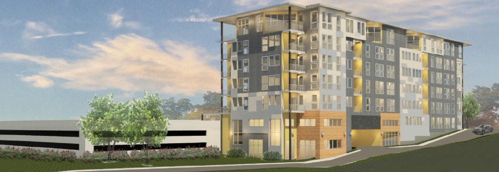 Portland-based A&M Partners wants to build a 54-unit apartment complex at 75 Chestnut St. in West Bayside. One- and two-bedroom units are planned.