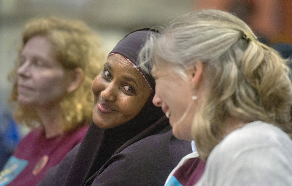 Somali immigrant Safiya Mohamed and Beccas Matusovich, a staff member of Portland Empowered, were pleased last week when the School Board voted to create a committee to address the concerns of immigrant parents.