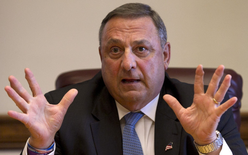 Gov. LePage continues to repeat the myth of black criminality to justify the toxic racial attitude that is keeping people from moving to and investing in Maine.
