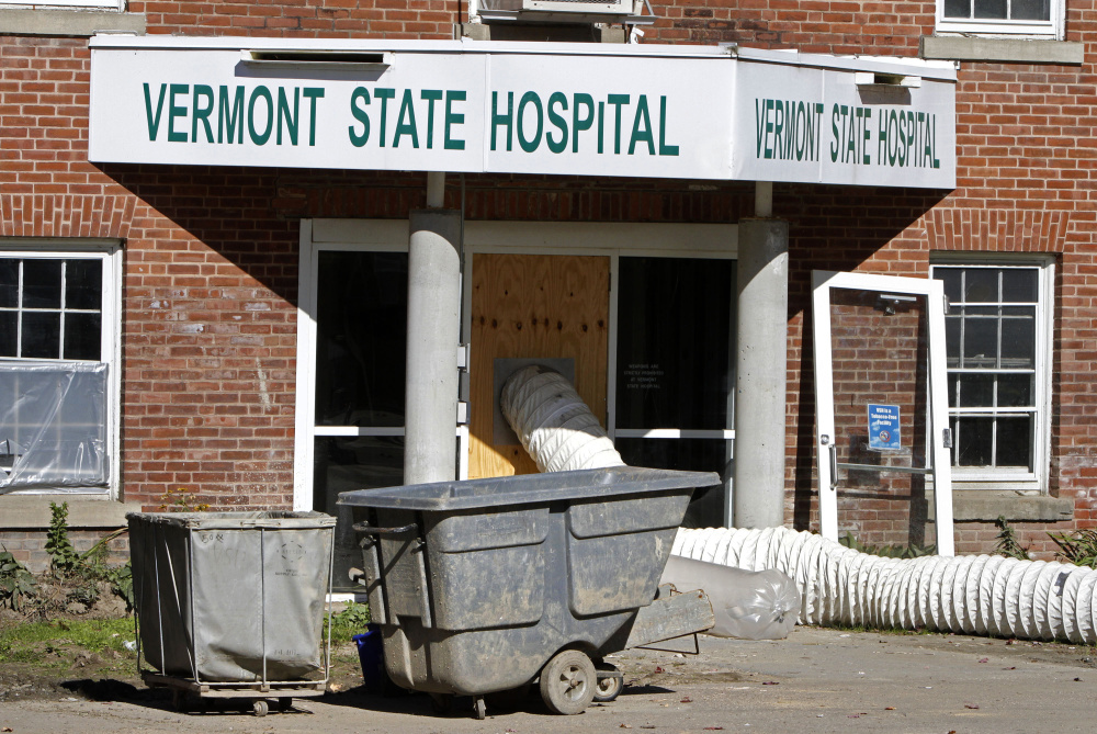 The Vermont State Hospital in Waterbury was damaged by Tropical Storm Irene in 2011. Five years after flooding forced the hospital's closure, much of the system has been rebuilt.