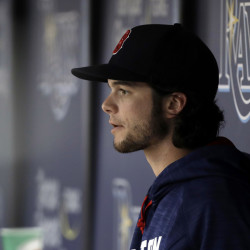 Andrew Benintendi is on the 15-day disabled list after injuring his left knee in Wednesday's game against the Tampa Bay Rays, but the Red Sox are hopeful that he'll be able to return to the lineup sometime in September.