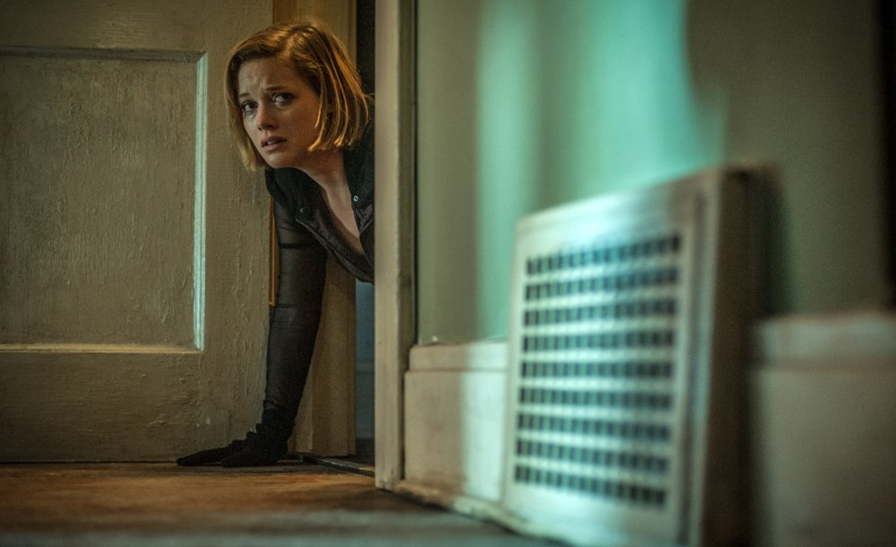 An image released by Sony Pictures shows Jane Levy in a scene from the movie