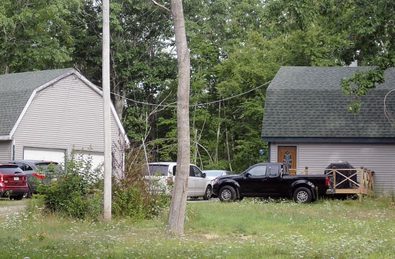 This home seen Tuesday morning at 130 Somerville Road, Jefferson, is where authorities say Shane Prior shot and wounded his ex-girlfriend, Michelle Creamer, then led police on a chase before shooting and killing himself.