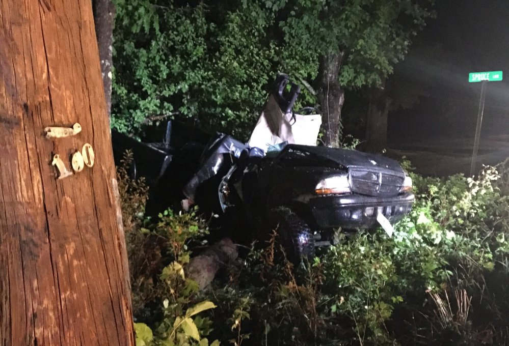 A Clifton man was killed when the pickup truck he was a passenger in went off U.S. Route 202 in Unity Tuesday night, hitting a utility pole. Two others in the truck, including the driver, were injured.