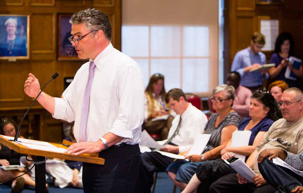 Mayor Ethan Strimling conceded his proposal could face legal challenges, but added: