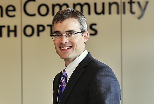 Community Health Options President and CEO Kevin Lewis, shown in 2013.
