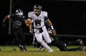 Desmond Leslie of Windham is one of the state's top returning quarterbacks, hoping to drive the Eagles to Class A North contention.